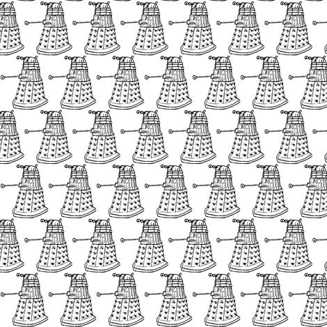 Black and White Daleks