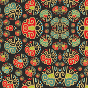 decorative exotic pattern