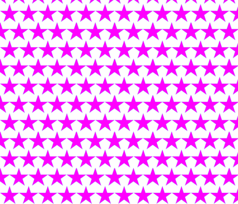 pinkstar fabric by fay_rose on Spoonflower - custom fabric