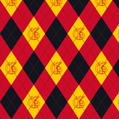 Gryffindor Argyle Sateen