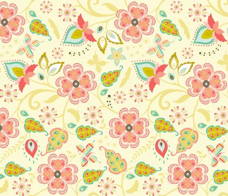 taj mahal fabric by kayajoy on Spoonflower - custom fabric