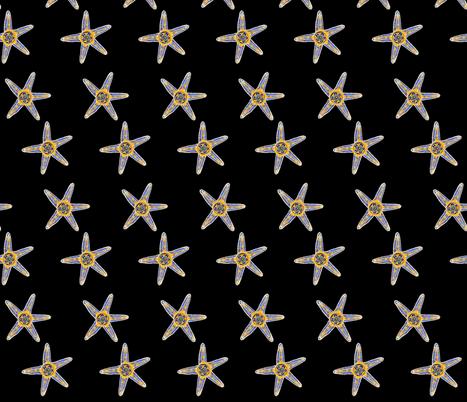 Asterias fabric by joancaronil on Spoonflower - custom fabric