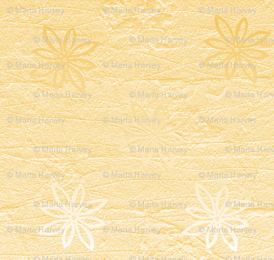 Subtle flowers on textured background