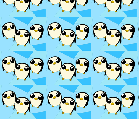 Adventure Time Gunter fabric by myke_m21 on Spoonflower - custom fabric