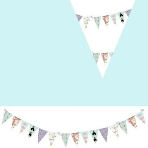 French Script  Bunting Banner Cut and Make
