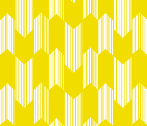 Golden arrows fabric by fable_design on Spoonflower - custom fabric
