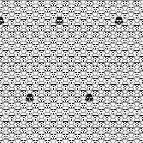 The Dark Side fabric by nerdbaitplus3 on Spoonflower - custom fabric