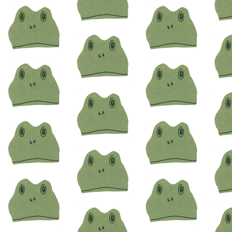 frogs half-drop fabric by ali*b on Spoonflower - custom fabric