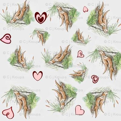 Valentine Otters