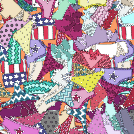 knickers fabric by scrummy on Spoonflower - custom fabric