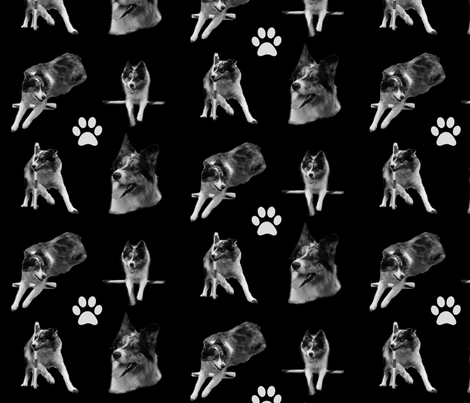 HANK fabric by stickelberry on Spoonflower - custom fabric