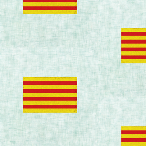 Viva Catalunya fabric by trizzuto on Spoonflower - custom fabric