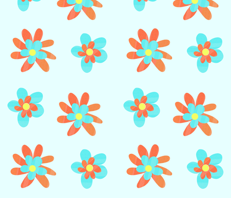 Flowers fabric by arttreedesigns on Spoonflower - custom fabric