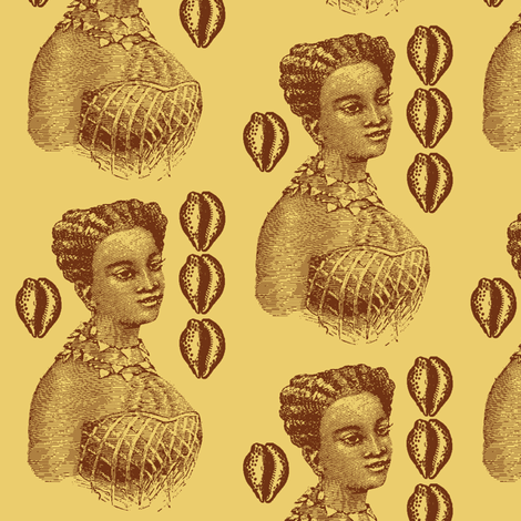 Favorie2 fabric by nalo_hopkinson on Spoonflower - custom fabric