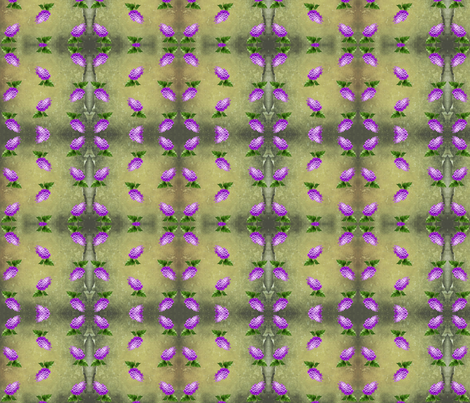 Lilacs fabric by ravynscache on Spoonflower - custom fabric