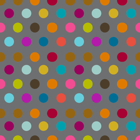 All in a dot fabric by keweenawchris on Spoonflower - custom fabric