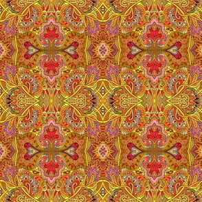 Hippie Trippy Psychedelic Homage to India in mid Summer