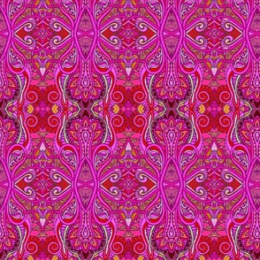 Red Hot Summer of Love (Hippie Trippy Retro Boldness)