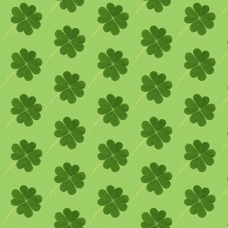 4 leaf clover fabric by paragonstudios on Spoonflower - custom fabric