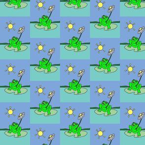 Alfie's Frog