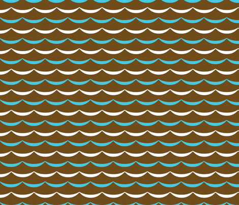 jb_sasparilla_waves_3 fabric by juneblossom on Spoonflower - custom fabric