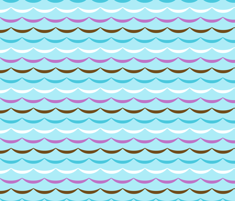 jb_sasparilla_wave_1 fabric by juneblossom on Spoonflower - custom fabric