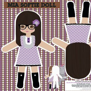 Mia softie doll
