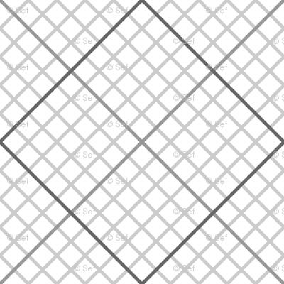 diagonal graph : grey