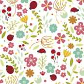 Ladybird Floral