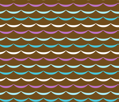 jb_sasparilla_waves_large_11 fabric by juneblossom on Spoonflower - custom fabric