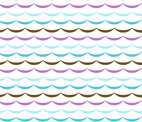 jb_sasparilla_waves_large_12 fabric by juneblossom on Spoonflower - custom fabric