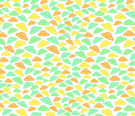 Ufos_2 fabric by milimari on Spoonflower - custom fabric