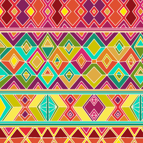acid weave fabric by scrummy on Spoonflower - custom fabric