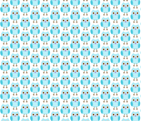 jb_sasparilla_linear_owls_1 fabric by juneblossom on Spoonflower - custom fabric