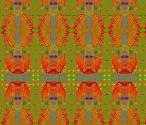 Origin of Power fabric by wrapstar on Spoonflower - custom fabric