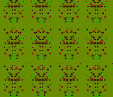 An  African on St. Patty's Day fabric by wrapstar on Spoonflower - custom fabric