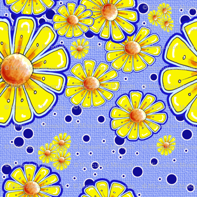 Bring On The Sunshine in Yellow and Blue
