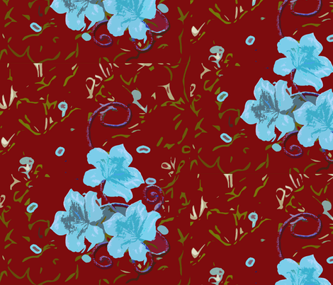 FEBRUARY_SPRING_SERIES_SPOONFLOWER_4 fabric by cutelilbutterfly on Spoonflower - custom fabric