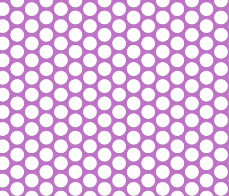 purple modern circles fabric by juneblossom on Spoonflower - custom fabric