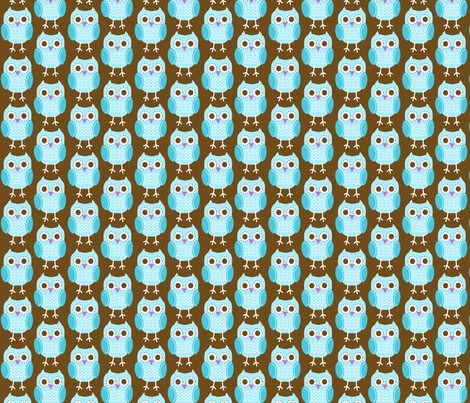 jb_sasparilla_linear_owls_2 fabric by juneblossom on Spoonflower - custom fabric