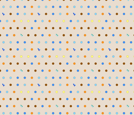 traindots3 fabric by mojiarts on Spoonflower - custom fabric