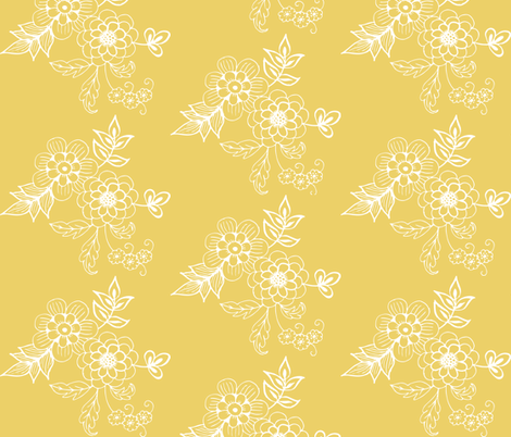 Buttercup fabric by hazelrose on Spoonflower - custom fabric