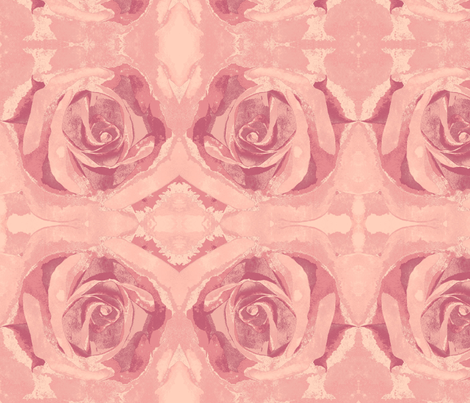 Autumn Roses fabric by thepinkhome on Spoonflower - custom fabric