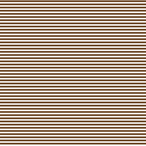pinstripes brown and white fabric by misstiina on Spoonflower - custom fabric