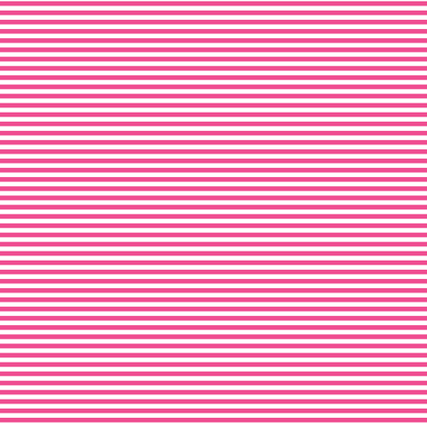 pinstripes dark pink and white fabric by misstiina on Spoonflower - custom fabric