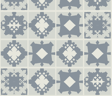 quiltgreygrid1 fabric by jonburgessdesign on Spoonflower - custom fabric