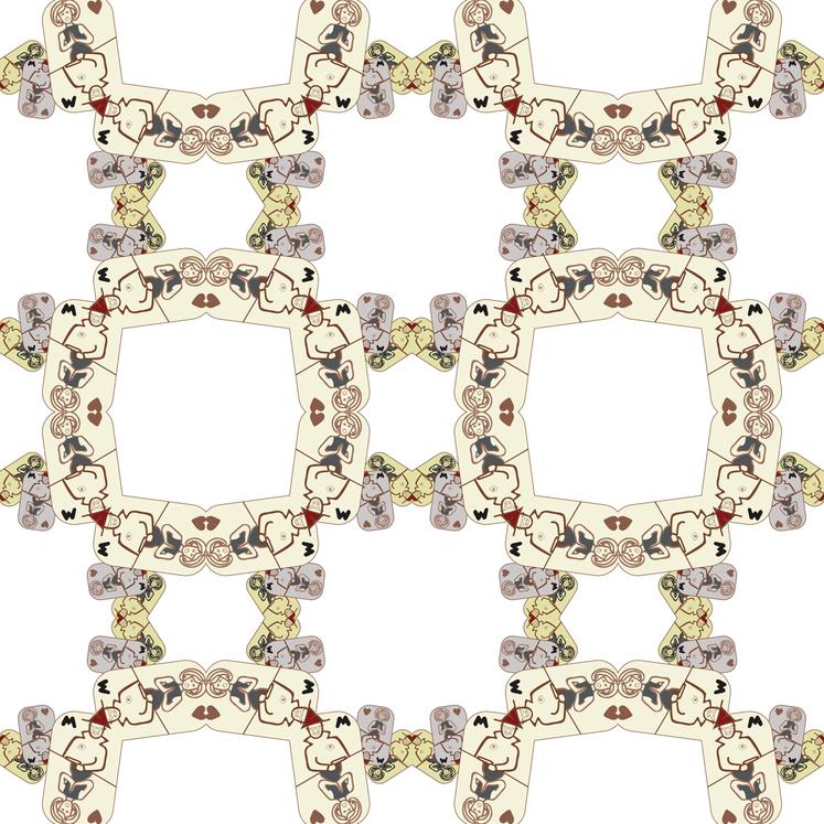 card game Mafia fabric by atwinso on Spoonflower - custom fabric