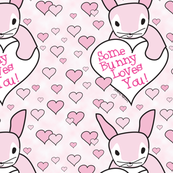 Pink Some Bunny Loves You