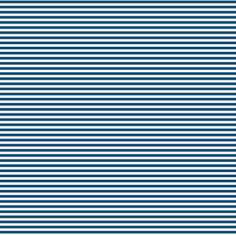 pinstripes navy blue and white fabric by misstiina on Spoonflower - custom fabric