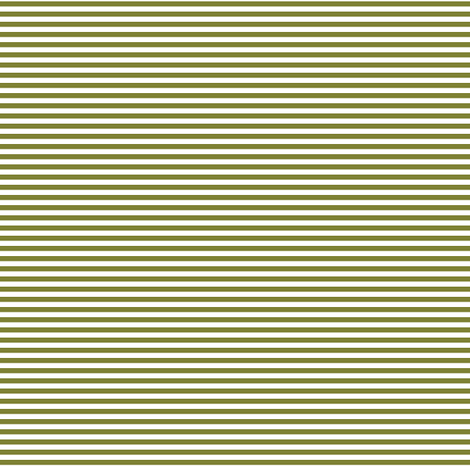 pinstripes olive green and white fabric by misstiina on Spoonflower - custom fabric